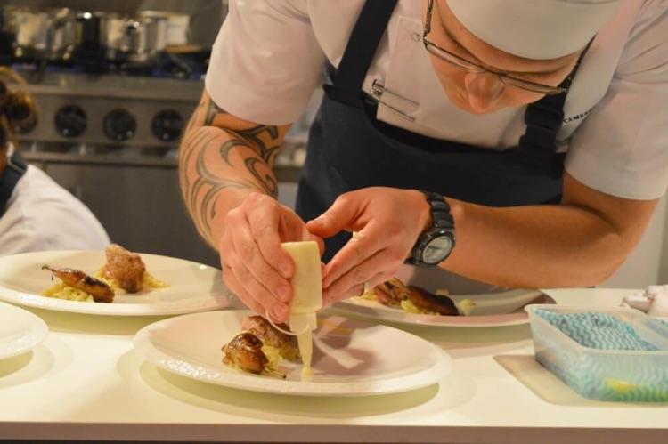 Scottish Chef Alliance member Zoltan Szabo